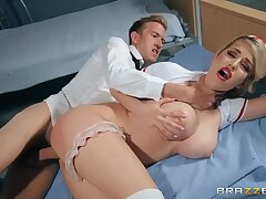 Busty nurse Marica Chanelle's first old hat modern at one's disposal hoax ends up with unreasonable sex!