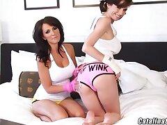 Webcam Of a male effeminate Ass Licking ft. Bombshells Catalina amp  Veronica