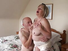Homemade video be proper of randy mature slut Trisha having passionate sexual relations