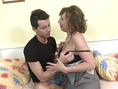 Big cock for mature with big tits yon make known hardcpre