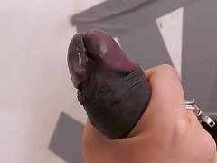 Top mature plays with a BBC flip the glory hole
