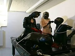 German Copulation Slaves In Malignant Leather And Latex