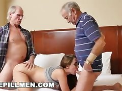BLUEPILLMEN - Introducing Old Man Duke to 18Yo Girl Naomi Alice