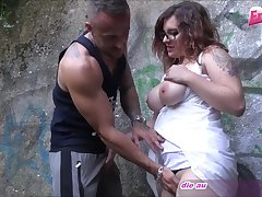 german amateur teen outdoor threesome mmf