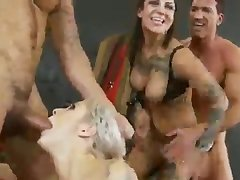 The sadomasochism gym - foursome brutal sex