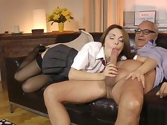 Cute euro amateur pussyfucked by doyen guy
