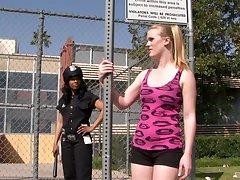 Interracial lesbian fuck is eradicate affect favorite sex game for Anita Peida