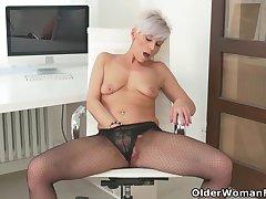 An older woman intercession fun part 216