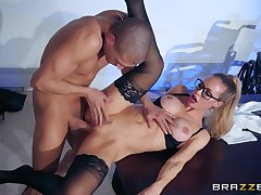 Nicole Aniston rides obese cock of lucky guy Xander Corvus