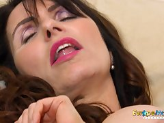 European MILF Thrilling Josephine added to her thudding toy