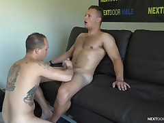 Cocks are rock indestructible when Justin Weston plus Richard Buldger hook up