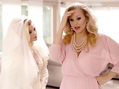 Erotic lesbian sex before the conjugal - Julia Ann and Carolina Sweets