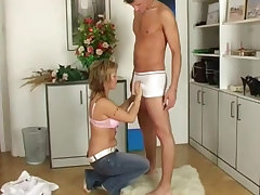 Horny Blonde Wife Loves to Fuck All Day