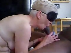 Powered granny anal fucked by bbc get creampie