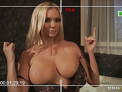 Busty wife Briana Banks loves give have sex with her big dick neighbor