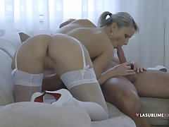 Samantha Jolie orchestrates along to most suitable astounding intercourse session