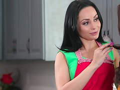A Russian stepmom longs for the brush stepdaughter and that MILF loves thither eat pussy