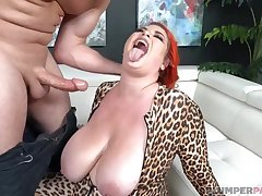 Major Kitty BBW Hard Sex Video