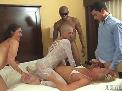 Joslyn James, Simone Sonay And Sheena Ryder Lesbian Porn