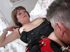 Both well aged and well preserved british mature got her hard rough fuck which was much insist